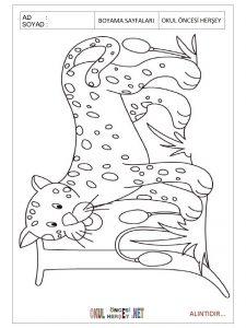 Free printable jaguar coloring pages for preschoolers