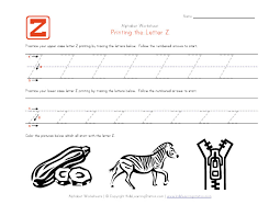 Letter z worksheets ideas for primaryschool