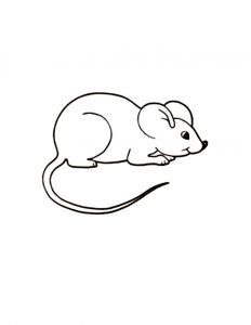 Mouse-Coloring-Page