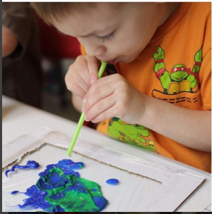 Painting with Pipette