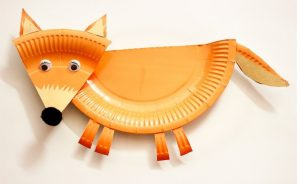 Paper-Plate-Fox-Craft-Preschool