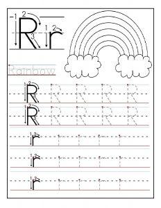 Printable-letter-R-tracing-worksheets-for-preschool