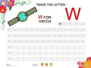 Tracing-Worksheet-for-Letter-W