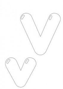 alphabet letter v pages worksheets homework