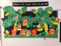 animals bulletin board ideas for preschool