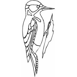 animals-woodpecker-printable-coloring-pages-for-preschool
