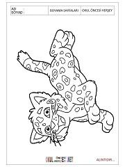 baby jaguar coloring pages