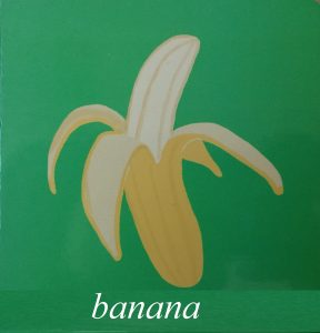 banana picture for kids