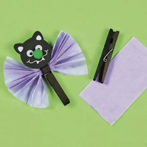 bat craft for kindergarten