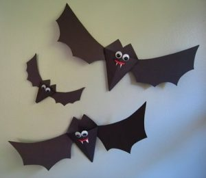 bat craft for preschool