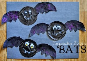 bat craft idea for kids