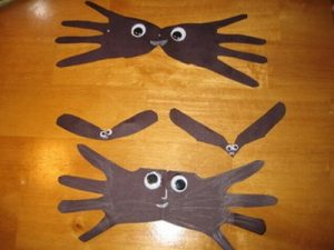bat craft idea for preschool