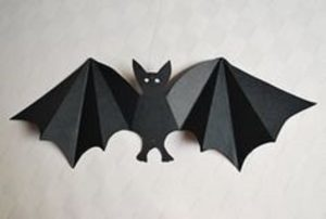 bat crafts for kindergarten