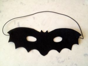 bat mask handmade