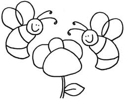 bee coloring pages 6