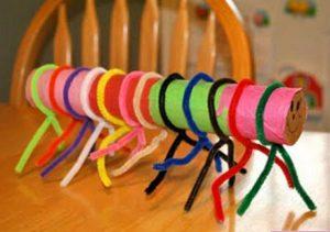 caterpillar-crafts-idea-for-kindergarten
