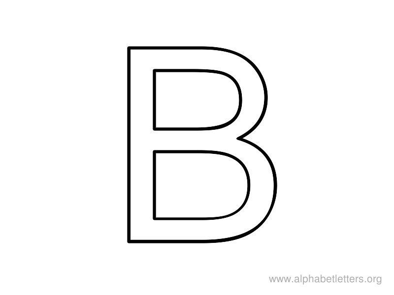 block letter b letter b coloring pages preschool and kindergarten 579
