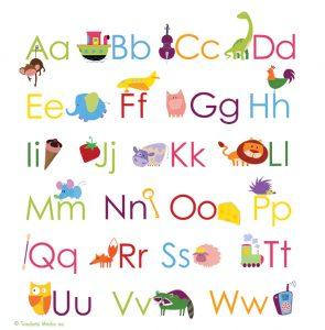 creative alphabet bulletin board ideas