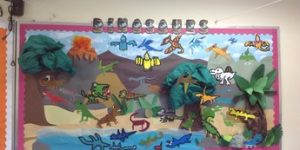 creative animals bulletin board