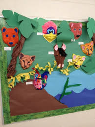 creative animals bulletin board ideas for kindergarten