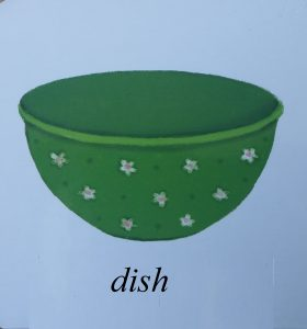 dish picture for kids