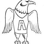 eagle related coloring pages