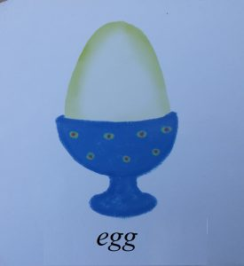 egg picture for kids