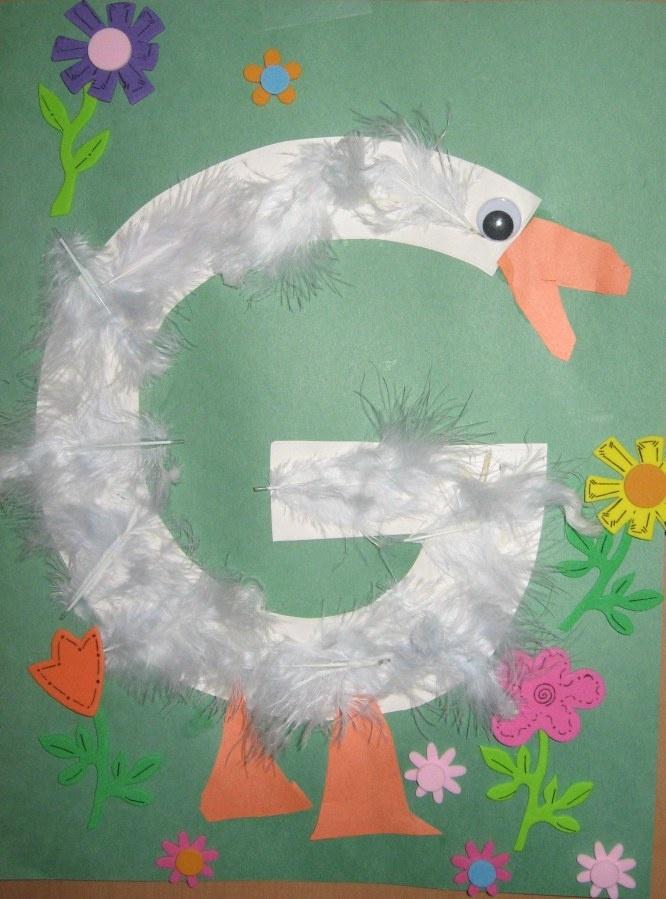 Letter G Preschool Activities Crafts