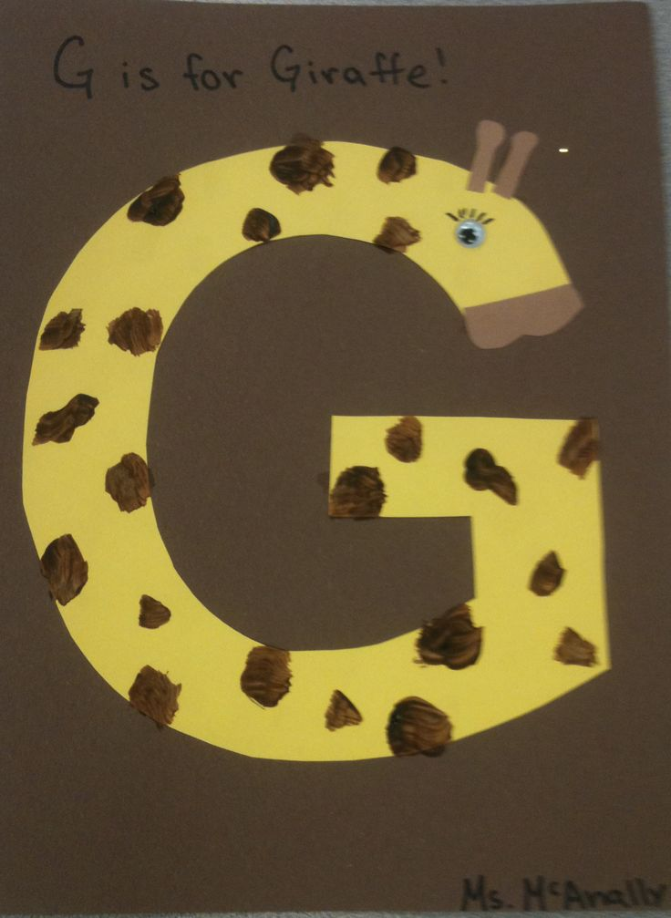 letter g crafts letter g crafts preschool and kindergarten 22861 | free alphabet letter g crafts