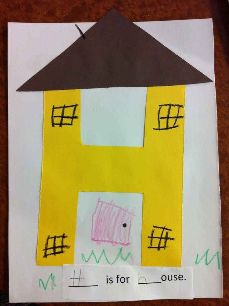 Letter h crafts deas preschool and kindergarten for Project for home