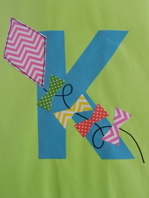 Letter K Crafts Preschool and Kindergarten