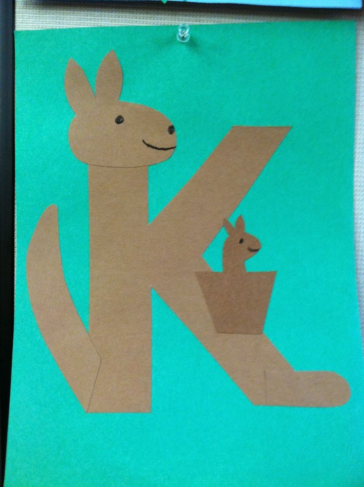 Alphabet Construction Paper Crafts