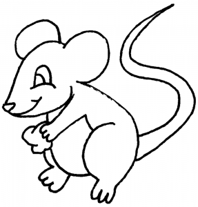 free-animals- Mouse -printable-coloring-pages-for-preschool