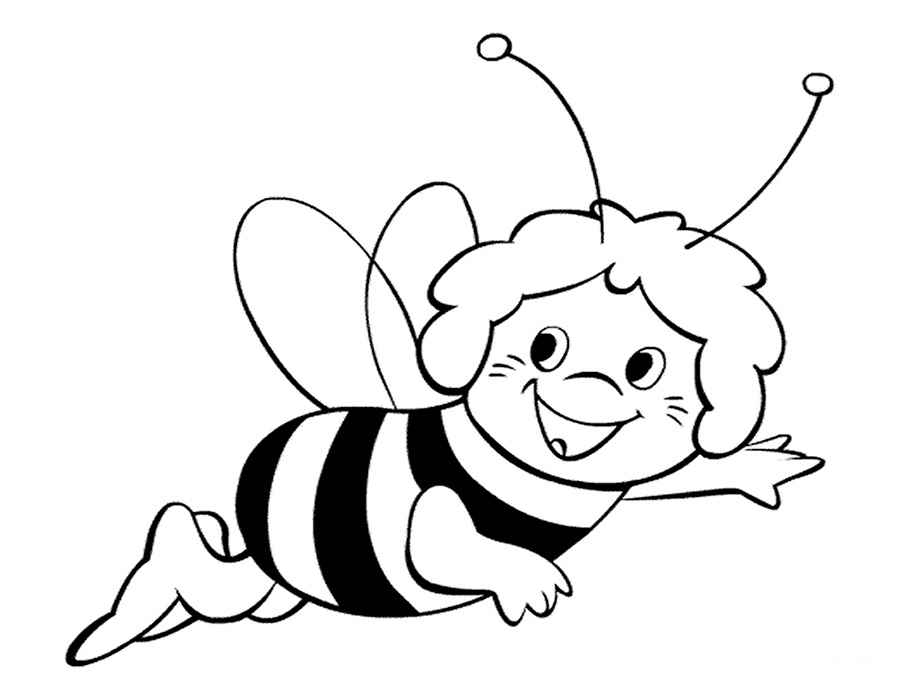 free-animals-bee-printable-coloring-for-preschool