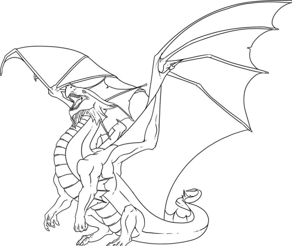 free-animals- dragon-printable-coloring-pages-for
