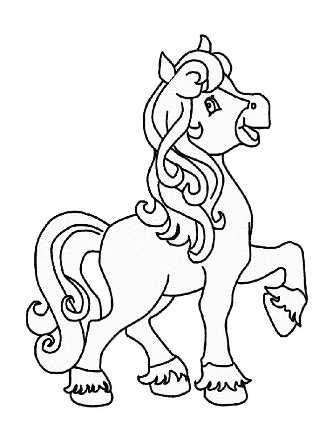 free-animals- horse-printable-coloring-pages-for-preschool