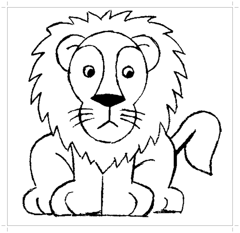 free-animals-lion-printable-worksheets-for-preschool