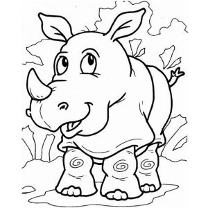 free-animals-rhino-printable-coloring-pages-for preschool
