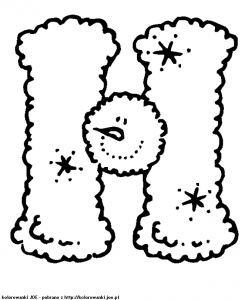 free letter h printable coloring pages for preschool