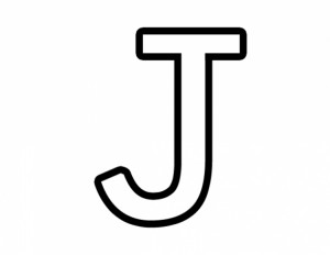 free letter j coloring pages for-preschool-