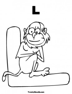 free letter l coloring-pages-for preschool