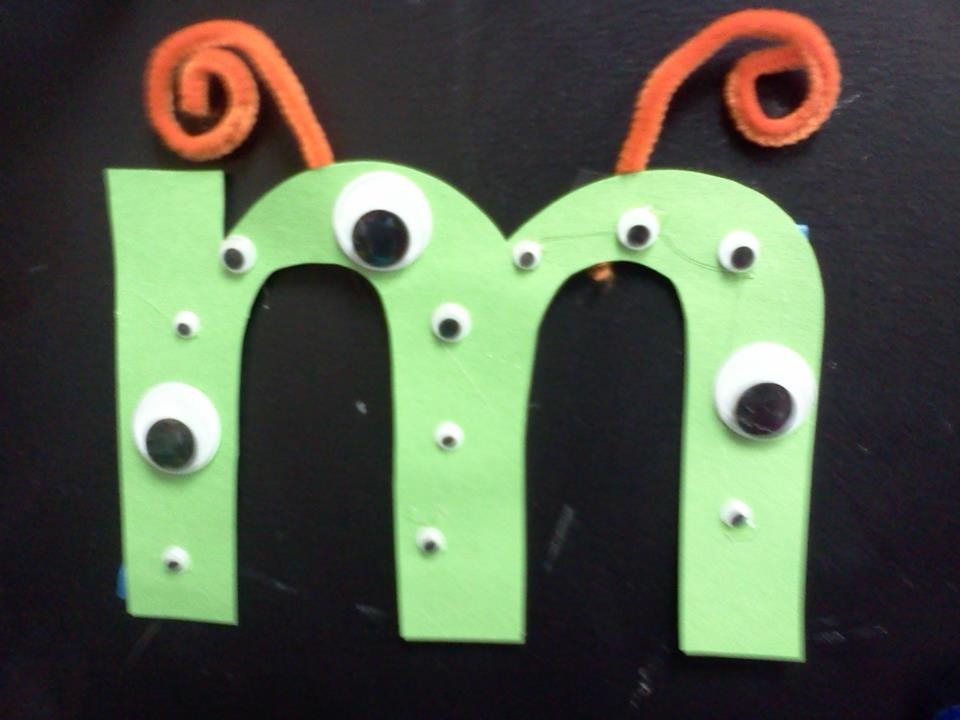 Letter M Arts And Crafts For Preschoolers