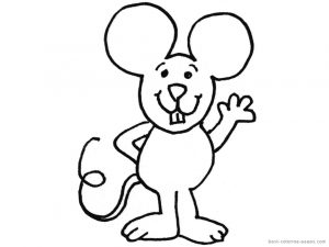 free mouse printable coloring-pages-for-preschool