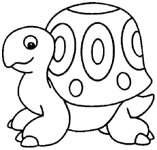 free printable Turtle coloring page