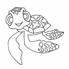 free printable Turtle coloring pages for kindergarten