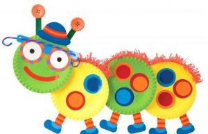 funny caterpillar craft for kids