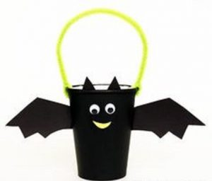 halloween craft idea for bats