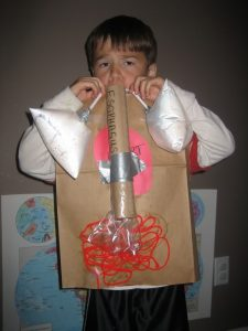 human body crafts for kids
