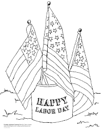 İnternational labor day coloring pages flag
