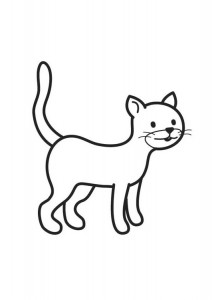 kittens coloring page